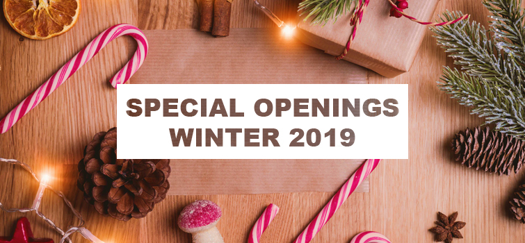 Special Openings Winter 2019 Silvio Hotel Restaurant
